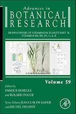Biosynthesis of Vitamins in Plants Part B (Advances in Botanical Research, nr. 59)
