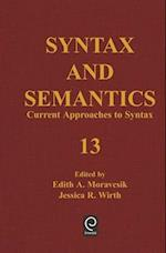 Current Approaches to Syntax af Edith A Moravcsik, Jessica R Wirth, Lyn Frazier