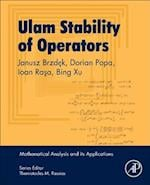 Ulam Stability of Operators (Mathematical Analysis and its Applications)