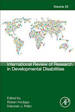 International Review of Research in Developmental Disabilities (International Review of Research in Developmental Disabilities)