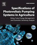 Specifications of Photovoltaic Pumping Systems in Agriculture af Imene Yahyaoui