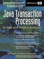 Java Transaction Processing (Hewlett-Packard Professional Books)