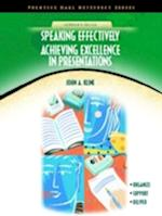 Speaking Effectively (Neteffect Series)