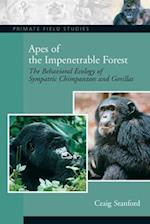 Apes of the Impenetrable Forest (Primate Field Studies)