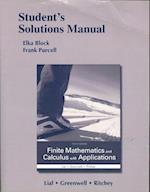 Student's Solutions Manual for Finite Mathematics and Calculus with Applications af Margaret L. Lial