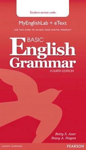 Basic English Grammar Mylab English & Etext Access Code Card