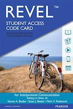 Interpersonal Communication Revel Access Code af Steven A. Beebe
