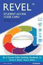 A Concise Public Speaking Handbook Revel Access Code