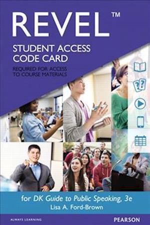 Bog, hardback DK Guide to Public Speaking Revel Access Code af Lisa A. Ford-Brown