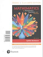 Mathematics for Elementary Teachers with Activities, Books a la Carte Edition