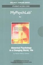 New Mypsychlab Without Pearson Etext -- Standalone Access Card -- For Abnormal Psychology in a Changing World