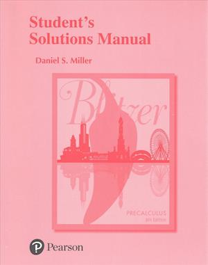 Bog, paperback Student's Solutions Manual for Precalculus af Robert F. Blitzer