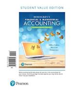 Horngren's Financial & Managerial Accounting, the Managerial Chapters, Student Value Edition