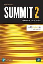 Summit Level 2 Student Book W/ Myenglishlab