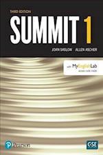 Summit Level 1 Student Book W/ Myenglishlab