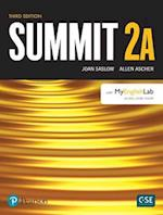 Summit Level 2 Student Book Split A W/ Myenglishlab