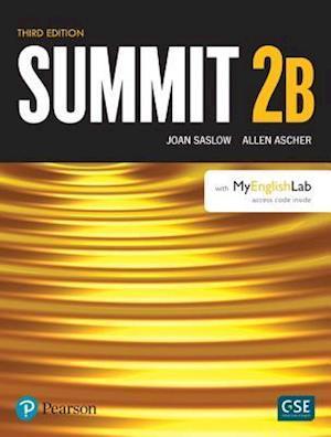Summit Level 2 Student Book Split B w/ MyLab English