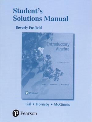 Bog, paperback Student's Solutions Manual for Introductory Algebra af Terry McGinnis