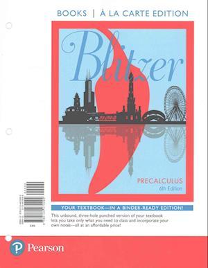 Bog, hardback Precalculus, Books a la Carte Edition Plus New Mymathlab -- Access Card Package af Robert F. Blitzer