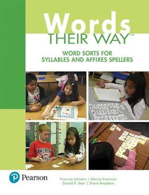 Bog, paperback Word Sorts for Syllables and Affixes Spellers af Francine Johnston