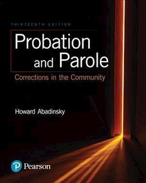 Bog, paperback Probation and Parole af Howard Abadinsky