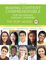 Making Content Comprehensible for Secondary English Learners + Enhanced Pearson Etext Access Card (SIOP)