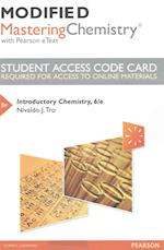 Modified Masteringchemistry with Pearson Etext -- Standalone Access Card -- For Introductory Chemistry
