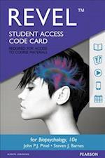 Revel for Biopsychology -- Access Card af Steven Barnes, John P. J. Pinel