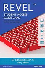 Revel for Exploring Research -- Access Card