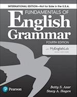 Fundamentals of English Grammar 4e Student Book with Myenglishlab, International Edition