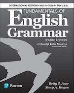 Fundamentals of English Grammar 4e Student Book with Essential Online Resources, International Edition