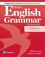 Basic English Grammar 4e Student Book with Myenglishlab, International Edition
