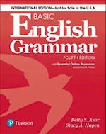 Basic English Grammar Student Book with Essential Online Resources, International Edition