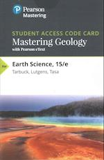 Masteringgeology with Pearson Etext -- Standalone Access Card -- For Earth Science