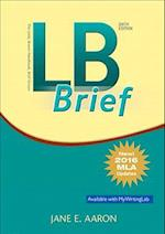 LB Brief [Tabbed Version] the Little, Brown Handbook, Brief Version, MLA Update