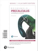 Precalculus with Integrated Review, Books a la Carte Edition, Plus Mymathlab with Pearson Etext and Sticker -- Access Card Package