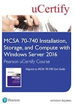 McSa 70-740 Pearson Ucertify Course Student Access Card (Certification Guide)