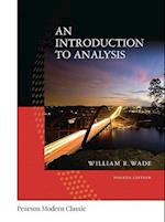 An Introduction to Analysis (Pearson Modern Classics for Advanced Mathematics)