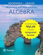Beginning and Intermediate Algebra with Applications & Visualization with Integrated Review Plus Mymathlab -- Title-Specific Access Card Package