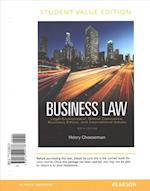 Business Law, Student Value Edition Plus 2017 Myblawlab with Pearson Etext -- Access Card Package