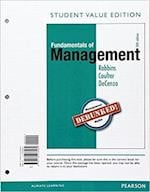 Fundamentals of Management, Student Value Edition Plus 2017 Mymanagementlab with Pearson Etext -- Access Card Package [With Access Code]