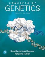 Concepts of Genetics Plus Masteringgenetics Access Card Package (Whats New in Genetics)
