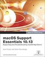 macOS Support Essentials 10.13 - Apple Pro Training Series (Apple Pro Training)