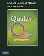 Student Solutions Manual to Accompany Quality af Donna C. S. Summers