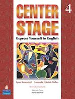 Center Stage 4 Lstp Package W/ Self-Study CD-ROM