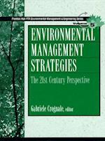 Environmental Management Strategies (Prentice Hall Series in Environmental Management, nr. 5)