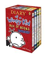 Diary of a Wimpy Kid Box of Books (Diary of a Wimpy Kid, nr. 12)