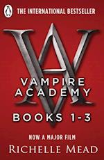 Vampire Academy Books 1-3