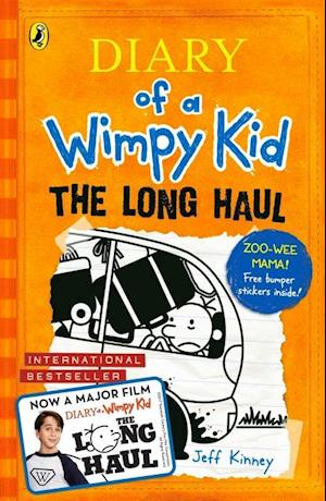 Bog paperback The Long Haul (Diary of a Wimpy Kid book 9) af Jeff Kinney