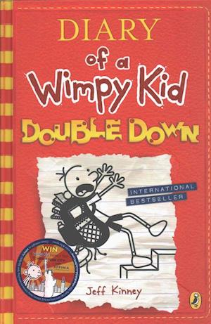 Bog hardback Diary of a Wimpy Kid: Double Down (Diary of a Wimpy Kid Book 11) af Jeff Kinney